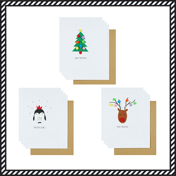 Christmas Card Packs & Boxes