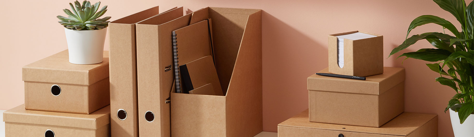 Kraft filing and storage collection