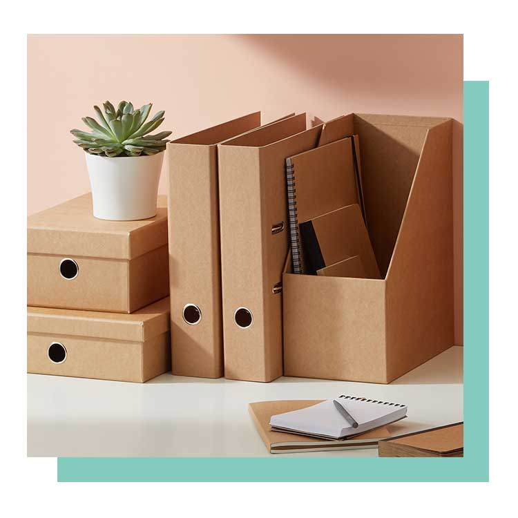 kraft filing and storage