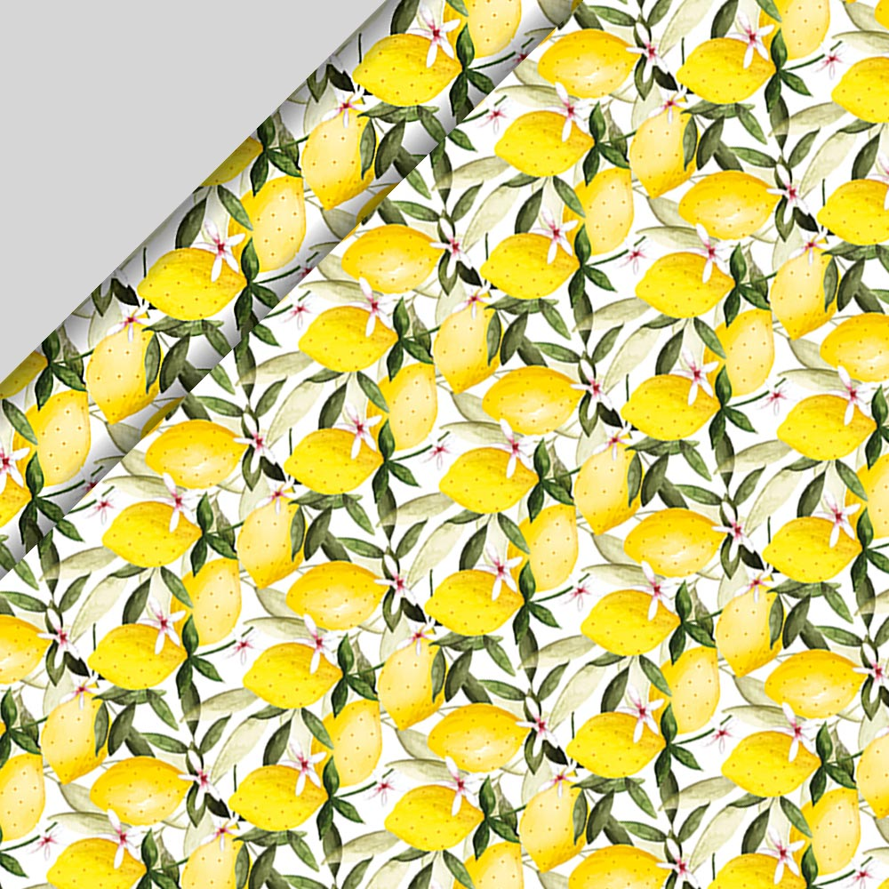 Gifts Lemons Wrapping Paper - 3m