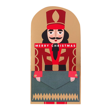 Nutcracker money wallet