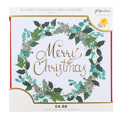 Charity Christmas card packs