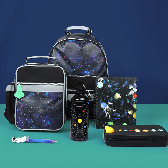 Space dust back to school collection